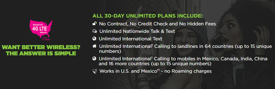 SIMPLE MOBILE Unlimited Plans