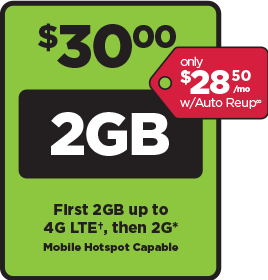 SIMPLE Mobile $30 plan